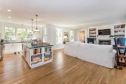 Katama - Edgartown Martha's Vineyard vacation rental - Large Gourmet Chef's Kitchen Opens To Living Area For Easy Entert