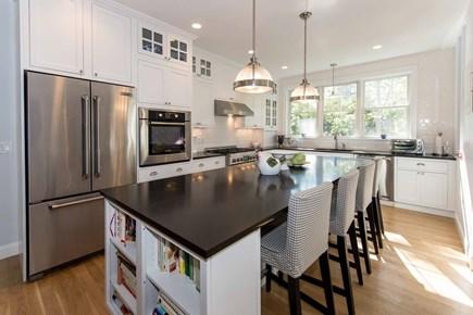 Katama - Edgartown Martha's Vineyard vacation rental - Cook's Kitchen Has Prep Island/Breakfast Bar & Stone Counters,