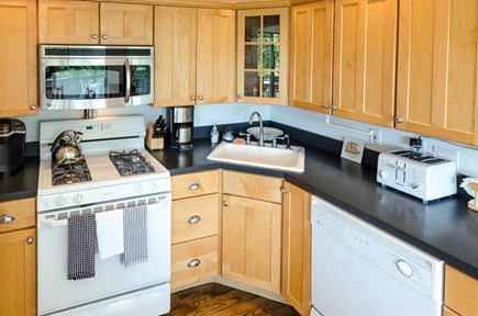 West Tisbury Martha's Vineyard vacation rental - Kitchen Is Nicely Equipped For Vacation Entertaining