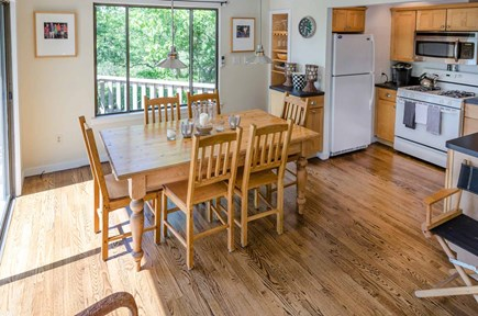West Tisbury Martha's Vineyard vacation rental - Dining Area Integrates With Kitchen For Easy Entertaining