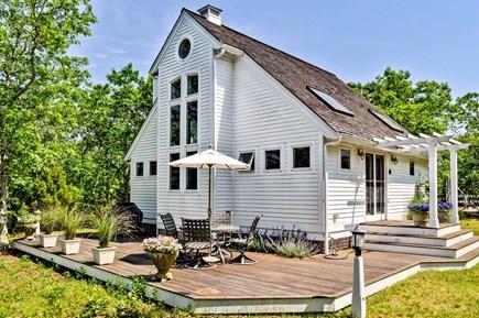 West Tisbury Martha's Vineyard vacation rental - Portico Cottage at Long Point Beach