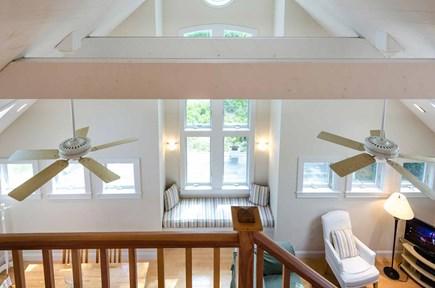 West Tisbury Martha's Vineyard vacation rental - Loft View Down Over Living Area