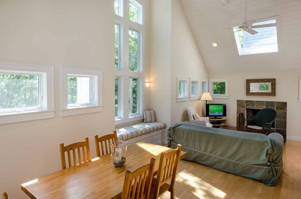 West Tisbury Martha's Vineyard vacation rental - Two-And-A-Half Story Great Room Features Open Dining & Living Are
