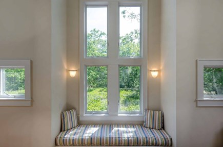 West Tisbury Martha's Vineyard vacation rental - Sunny Reading Nook With Built-In Window Seating