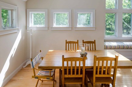 West Tisbury Martha's Vineyard vacation rental - Two-And-A-Half Story Great Room Features Open Dining Area