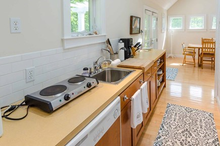 West Tisbury Martha's Vineyard vacation rental - Galley Style Kitchen Opens Off Dining Area