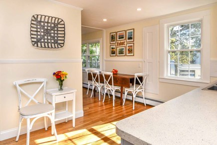 Edgartown Village Martha's Vineyard vacation rental - Kitchen Looking Toward Dining Area