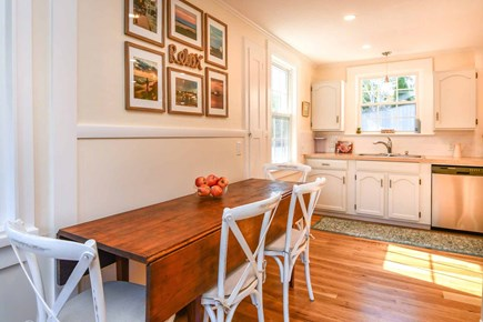 Edgartown Village Martha's Vineyard vacation rental - Dining Area Has Seating for Four