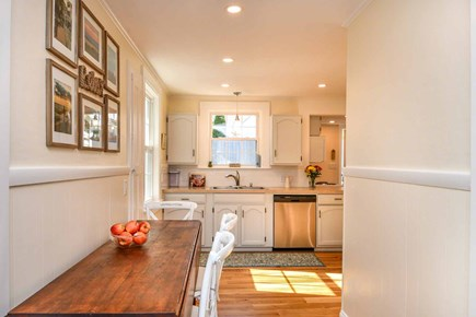 Edgartown Village Martha's Vineyard vacation rental - Alternative View of Dining Area