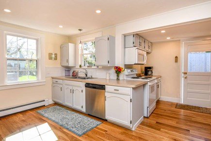 Edgartown Village Martha's Vineyard vacation rental - Spacious Kitchen Has Stainless Steel Appliances