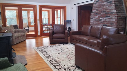 Vineyard Haven Martha's Vineyard vacation rental - Sunny great room with skylighted cathedral ceiling and more.
