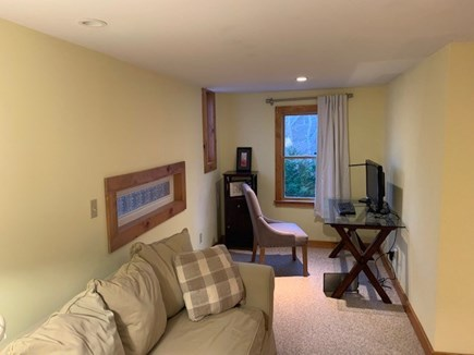 Vineyard Haven Martha's Vineyard vacation rental - Sitting area/office with French Doors. Part of Master Suite