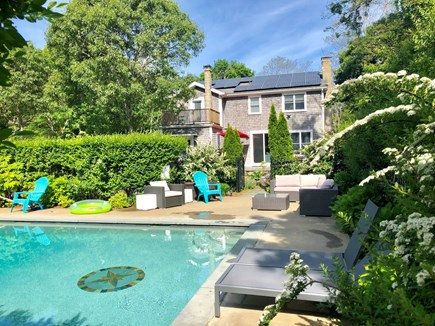 Oak Bluffs Martha's Vineyard vacation rental - Relax in a private, 24'x16' pool in the back yard