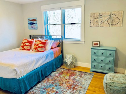 Oak Bluffs Martha's Vineyard vacation rental - This 2nd fl. room has a queen-sized bed & overlooks the backyard