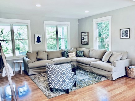 Oak Bluffs Martha's Vineyard vacation rental - Open concept great room contains large sitting area