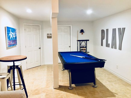 Oak Bluffs Martha's Vineyard vacation rental - The family room also includes a pool/hockey/ping pong table.