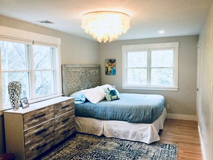 Oak Bluffs Martha's Vineyard vacation rental - The master bedroom has a king bed, ensuite bath and private deck