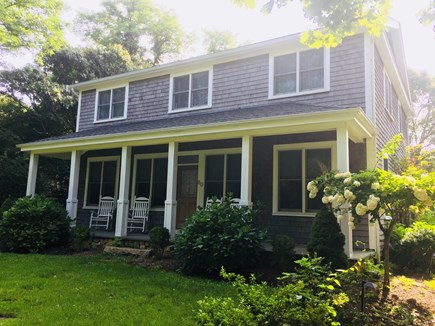 Oak Bluffs Martha's Vineyard vacation rental - The house is surrounded by lush greenery and flowers