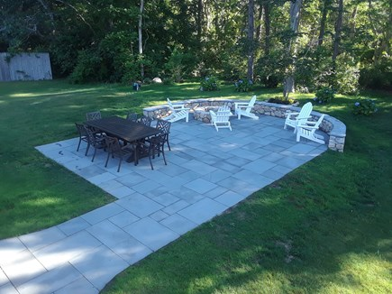 Edgartown Village Martha's Vineyard vacation rental - New 20x20  Blue-stone patio perfect for relaxing