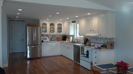 Edgartown Village Martha's Vineyard vacation rental - Kitchen open to living area