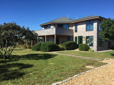 Chappaquiddick, Wasque Point Martha's Vineyard vacation rental - Home exterior and yard