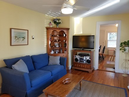 Edgartown Martha's Vineyard vacation rental - Living Room with pull out sofa and smart TV