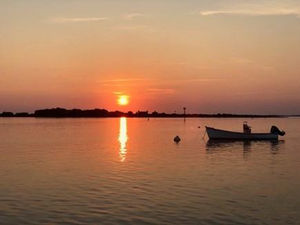 Vineyard Haven Martha's Vineyard vacation rental - Walk to sunset on Lake Tashmoo