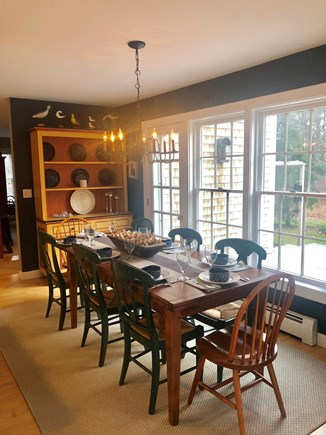 Vineyard Haven Martha's Vineyard vacation rental - Light, open dining area seats 8 comfortably