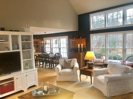 Vineyard Haven Martha's Vineyard vacation rental - Great Room Opens to Dining Area and Kitchen