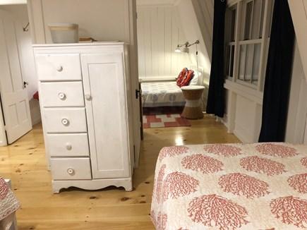 Oak Bluffs Martha's Vineyard vacation rental - Oak Bluffs pass-thru BR: twin beds looking back to queen bed.