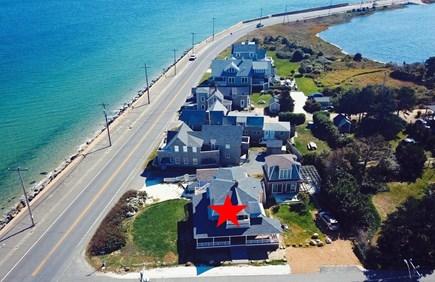 Oak Bluffs Martha's Vineyard vacation rental - Endless ocean views, set back corner lot, 3-sided porch.