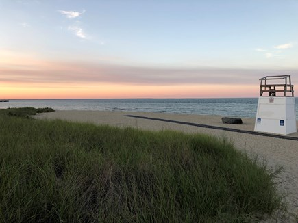 Oak Bluffs Martha's Vineyard vacation rental - A great swimming beach only steps away.