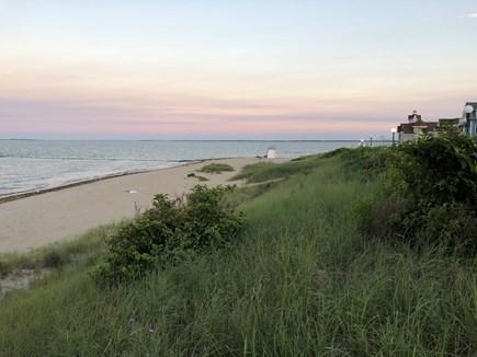 Oak Bluffs Martha's Vineyard vacation rental - The town beach, Inkwell, only steps away.