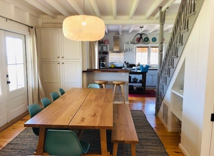 Oak Bluffs Martha's Vineyard vacation rental - Indoor dining.  Home's aesthetic is open, airy and uncluttered.