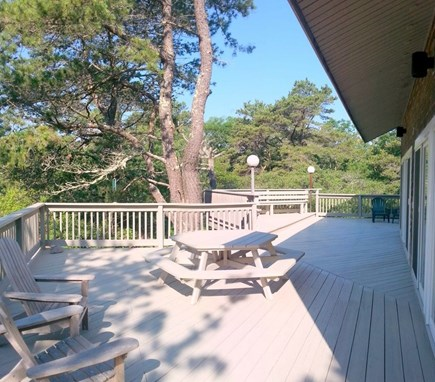 West Tisbury Martha's Vineyard vacation rental - Over 1000 square feet of Deck accessed via 5 sliders