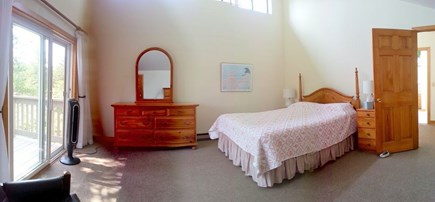 West Tisbury Martha's Vineyard vacation rental - Upstairs Master Bedroom with access to balcony