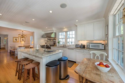 Edgartown Martha's Vineyard vacation rental - View From Casual Dining Area Toward Living Room
