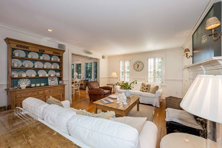 Edgartown Martha's Vineyard vacation rental - Open First Floor Layout Connects Living Room, Dining Room & Kitch