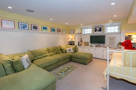 Edgartown Martha's Vineyard vacation rental - Large TV/Family Room Has Multiple Sitting & Hangout Areas. Lower