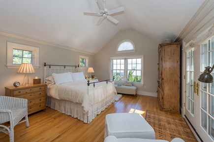 Edgartown Martha's Vineyard vacation rental - Master Suite, Queen Bed, Private Bath and Deck