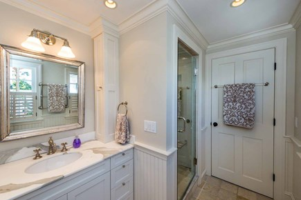 Edgartown Martha's Vineyard vacation rental - Master Bath Has Walk-In Shower