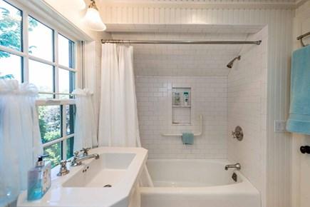Edgartown Martha's Vineyard vacation rental - Bedroom 4 En Suite Bath Has Tub/Shower Combination