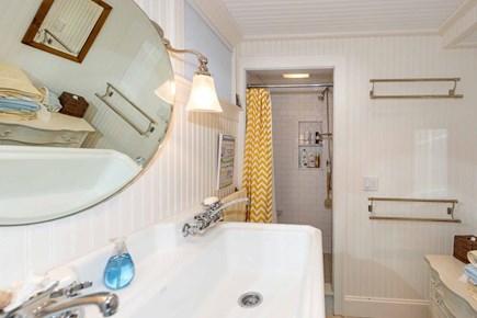 Edgartown Martha's Vineyard vacation rental - Full Shared Bath Has Shower. Lower Level