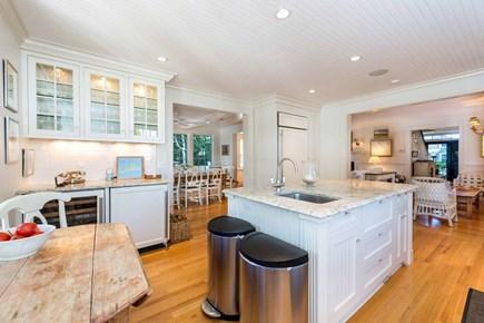 Edgartown Martha's Vineyard vacation rental - Kitchen Has Bar Serving Area With Wine Refrigerator & Ice Machine
