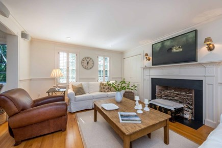 Edgartown Martha's Vineyard vacation rental - One Of Two Siting Areas in Living Room