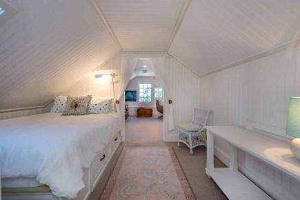 Edgartown Martha's Vineyard vacation rental - Bedroom Suite #4 - Double Bed, Sitting Area, Water View, Full Bat