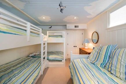 Edgartown Martha's Vineyard vacation rental - Bedroom 5 - Two Twin Bunk Beds
