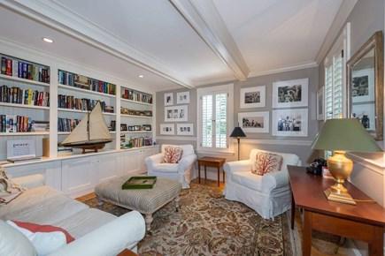 Edgartown Martha's Vineyard vacation rental - Den/Library Offers Additional Indoor Entertaining Space. First Fl