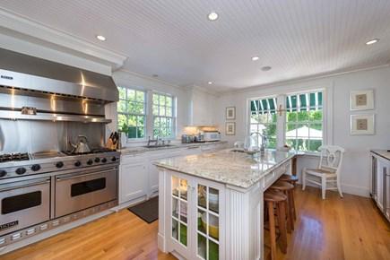Edgartown Martha's Vineyard vacation rental - Gourmet Chef's Kitchen Has Center Prep Island/Breakfast Bar, Gran