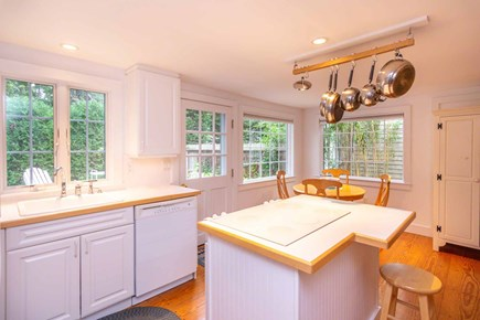 Edgartown Martha's Vineyard vacation rental - Kitchen Has Door Leading Out to the Deck